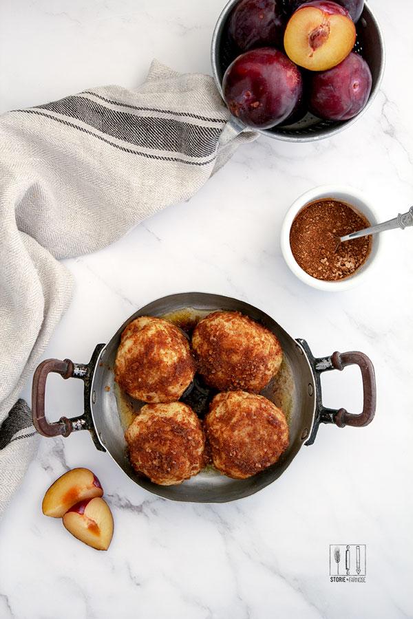 gnocchi di patate e susine