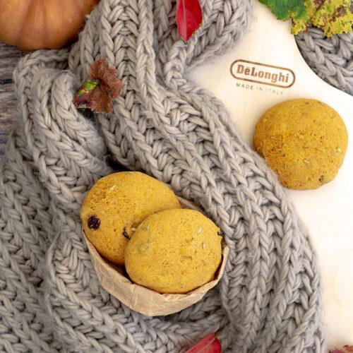 pane alla zucca dolce per De Longhi