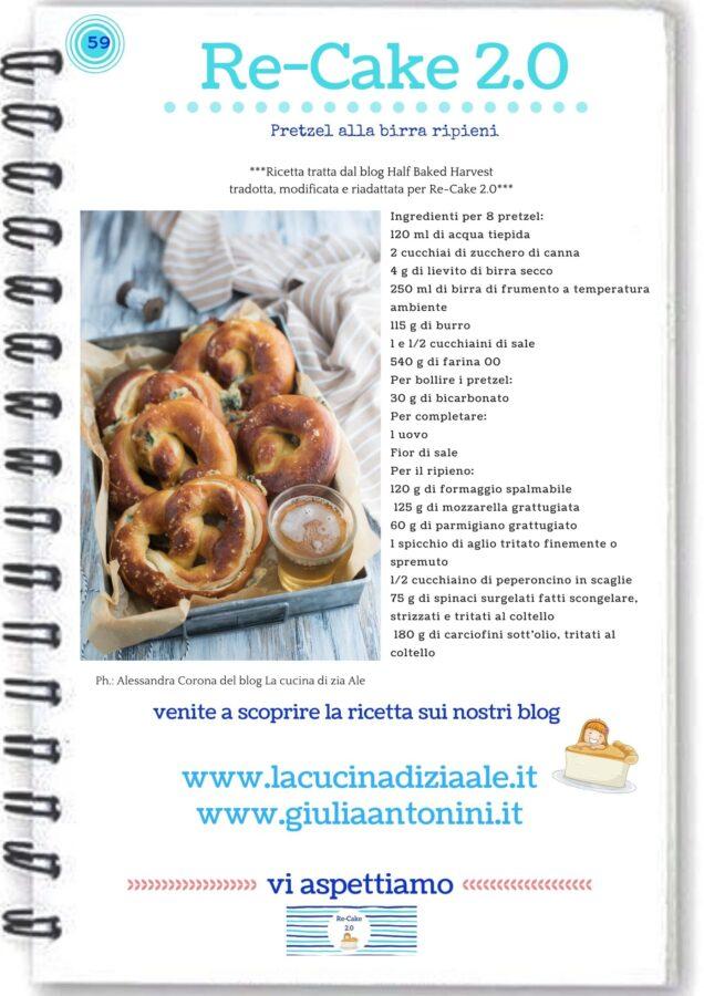 pretzel ricetta re-cake