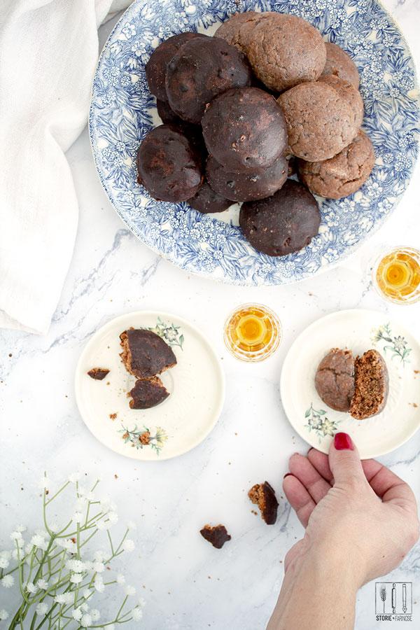 tetu teio biscotti al cioccolato e bianchi