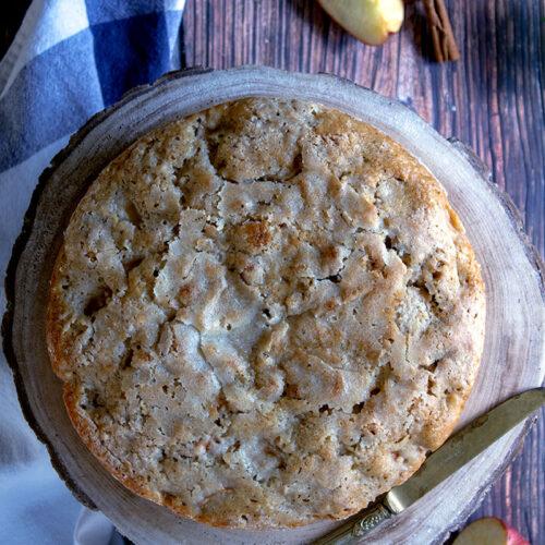 torta di mele rustica copertina