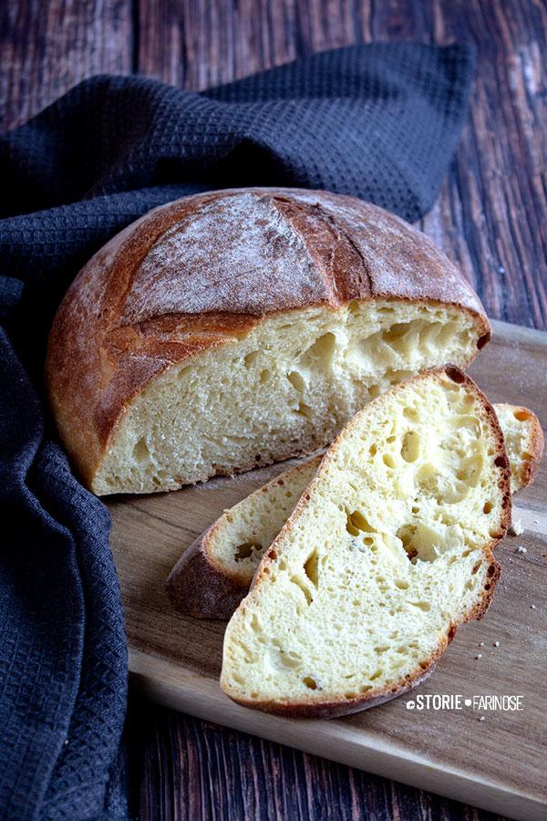 pane di semola d altamura fette