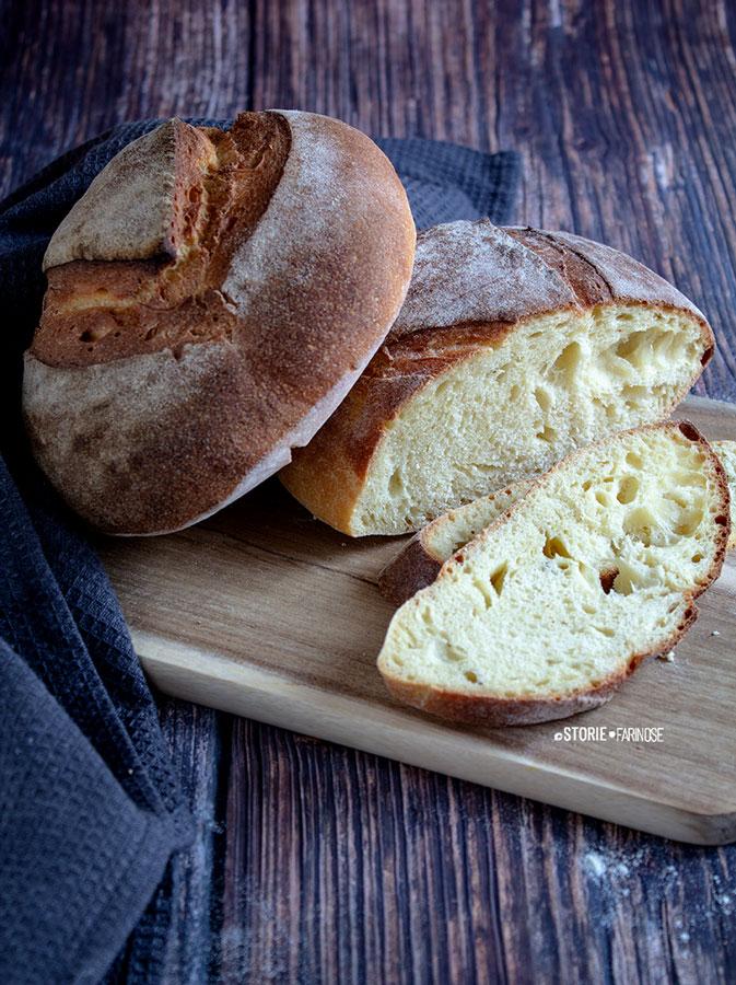 pane di altamura con semola tagiato