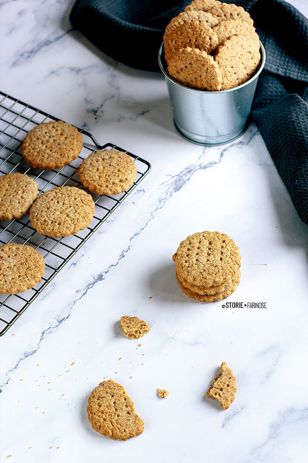 biscotti graham integrali spezzati