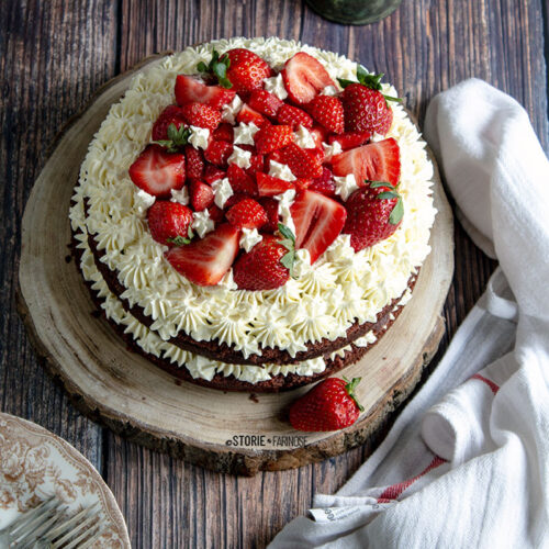 red velvet cake copertina