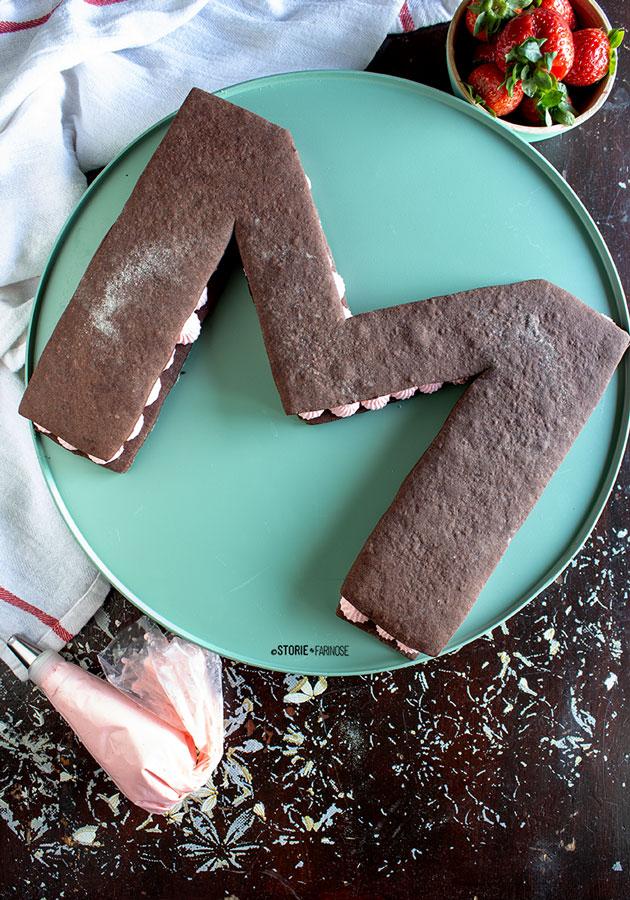 letter cake m