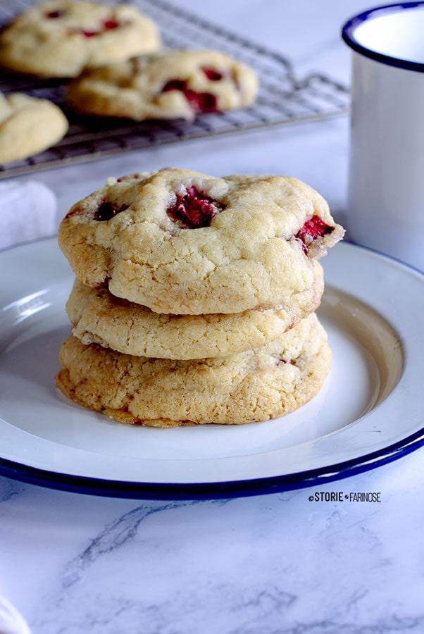 biscotti cheesecake visione laterale