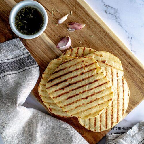 flatbread in padella copertina