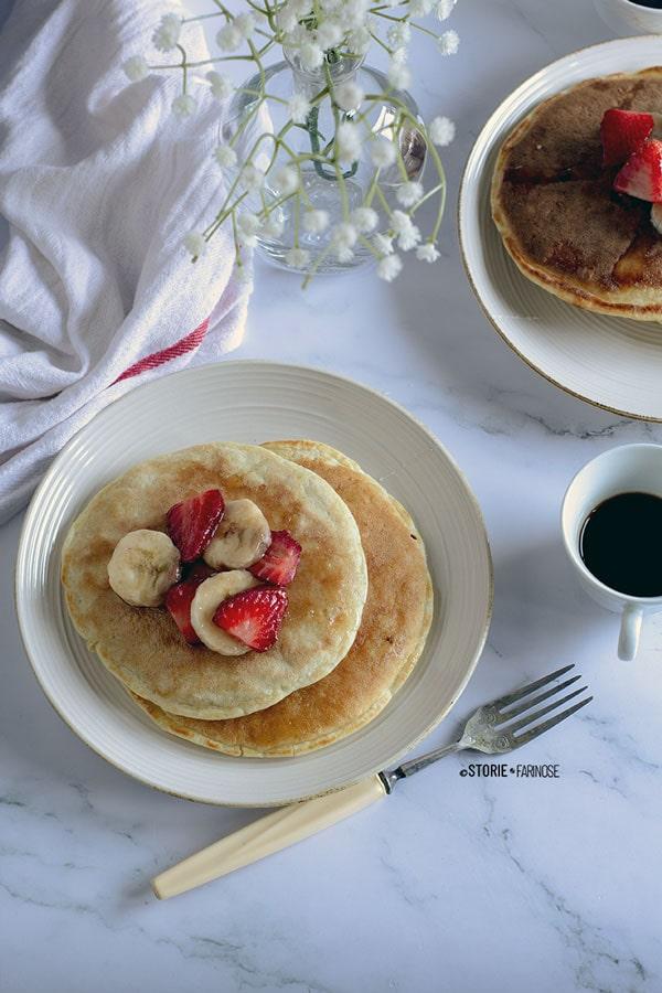 frittelle colazione primo piano