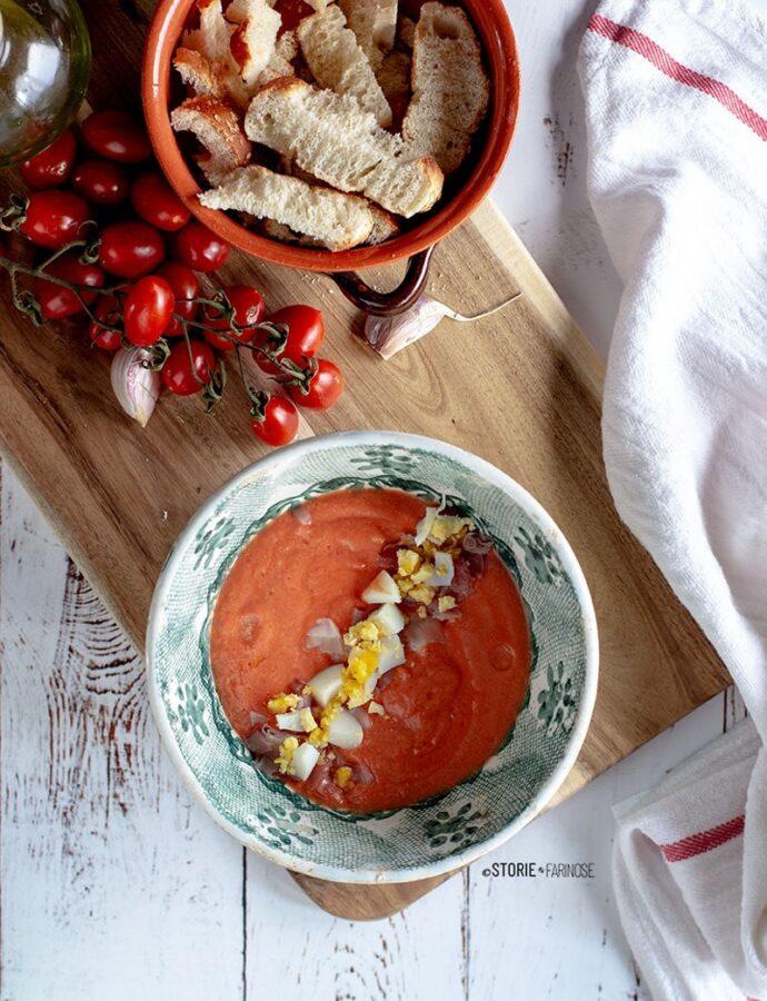 Salmorejo, la zuppa fredda cordovana