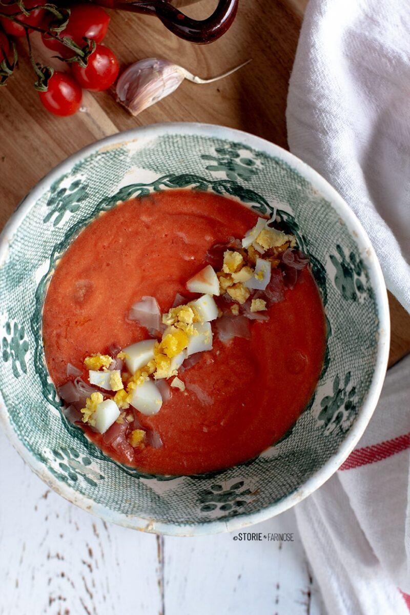 zuppa fredda primo piano