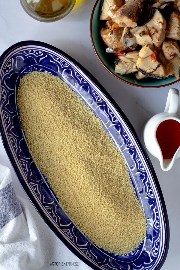 cous cous trapanese base