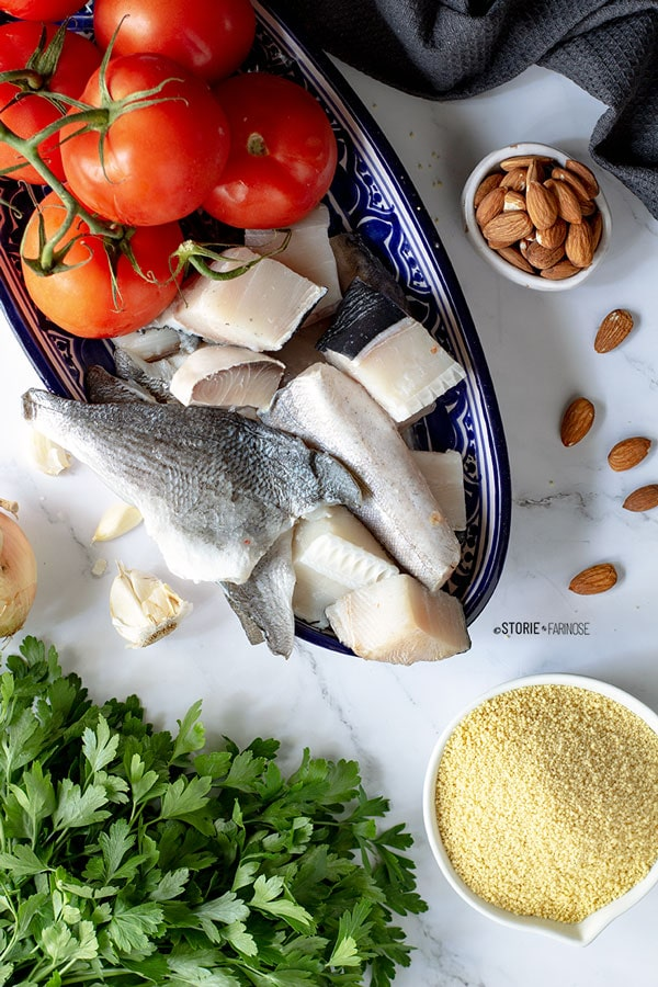 cous cous trapanese ingredienti