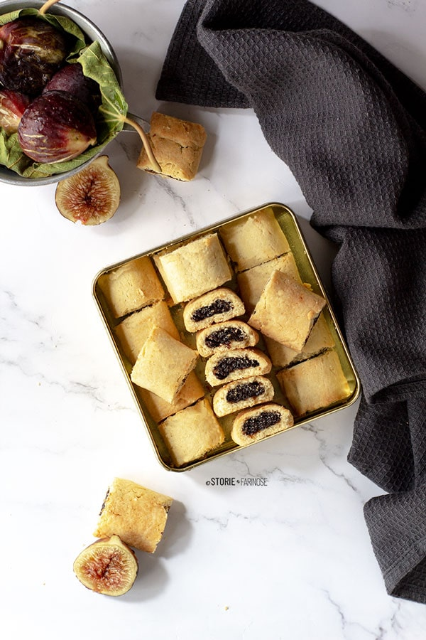 biscotti ai fichi e mandorle