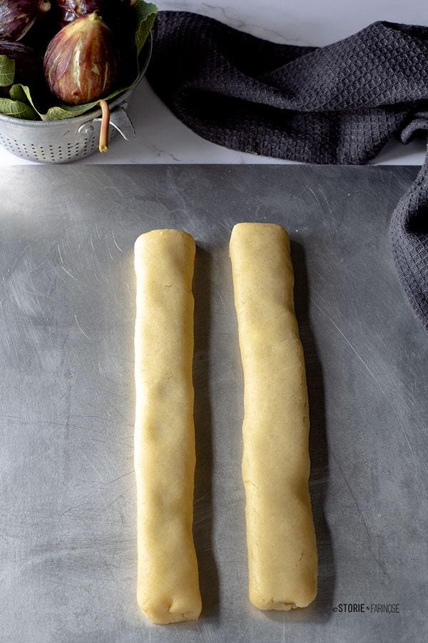 biscotti ai fichi preparazione