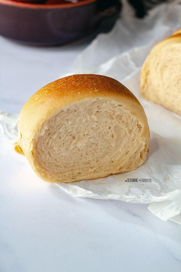 fetta di pane di patate dolci